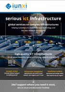 Infographic Serious ICT Infrastructure